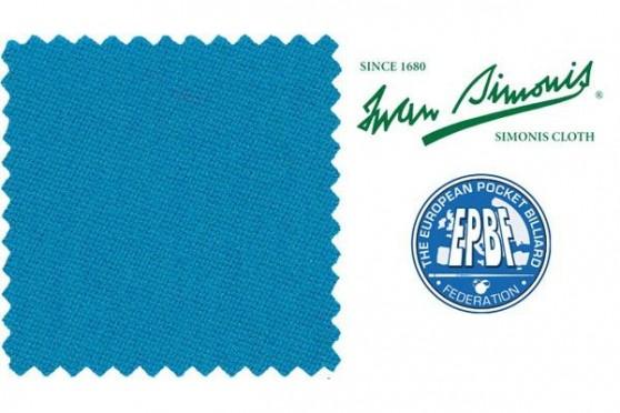 "Billardtuch "" Simonis 860 "", electric - blau , Pool"