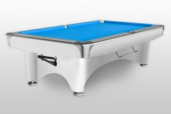 "Billiard Table ""Dynamic III"" shining white Pool"