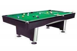 """Billardtisch """"Triumph"""" Pool, schwarz , Tuchfarbe grün"""