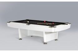 "Billiard Table "" DINO SPORT ""  Pool,  black /oak/white"