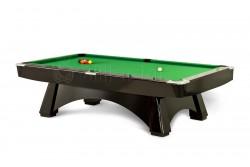 """Billardtisch """" DINO SPORT PRO """" Pool, schwarz weiss eiche , Tuchfarbe frei wählbar!"""