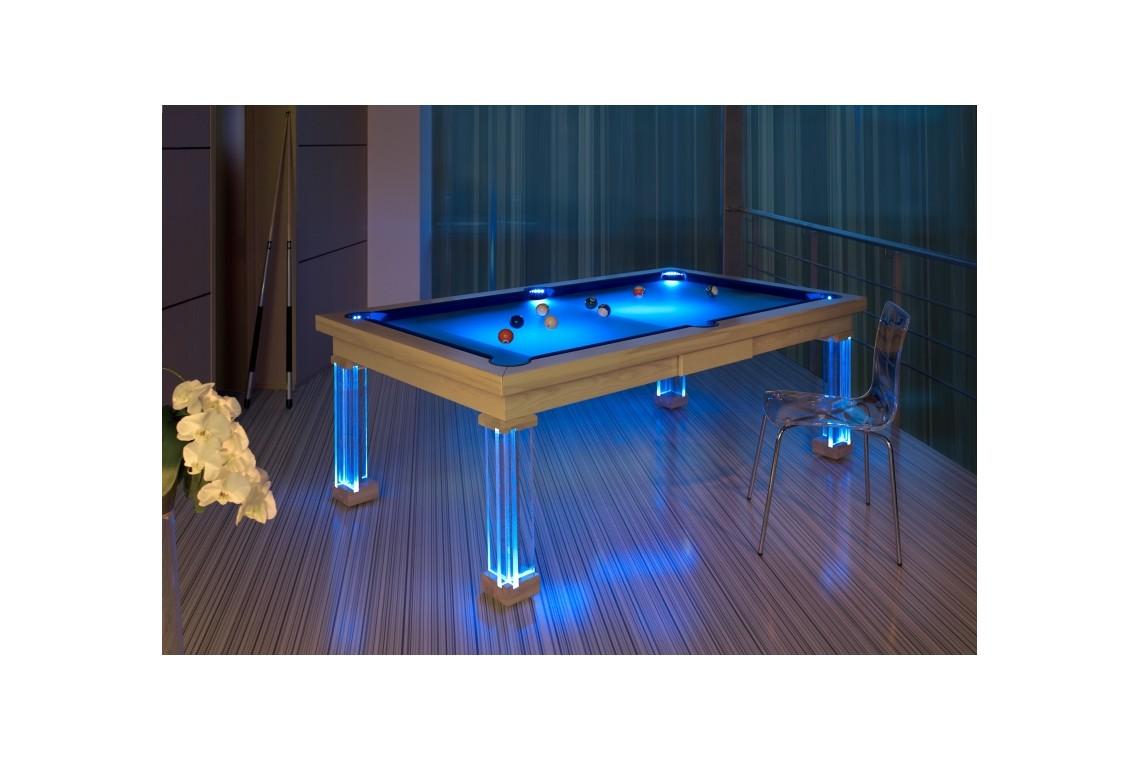 Billardtisch pronto pool billard esstisch in einem for Design esstisch triumph
