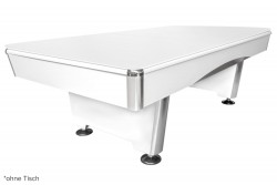 Table Cover lacquer, matt-white,  for Dynamic Triumph