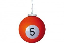 "Billiard drop light ""5"""