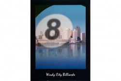 "Poster ""Windy City Billiards"""