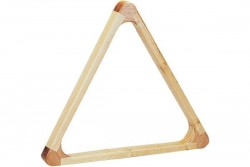 Triangle Profi, maple color, hardwood, 57,2 mm, Pool