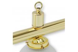 "Lamp ""Crown"", brass"
