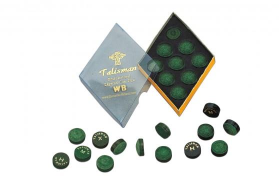 """Talisman WB"" Klebeleder, 13mm hart"