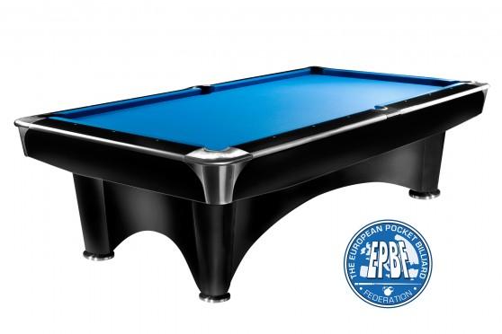 "Billiard Table ""Dynamic III"" black Pool"