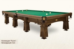 Billiard Table RUSICH Pyramid
