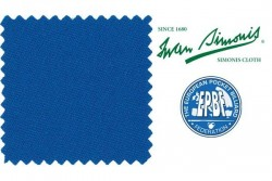 "Billardtuch "" Simonis 860 "", royal blau , Pool"