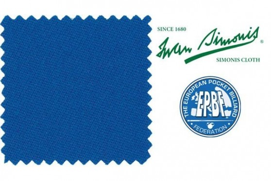"Billardtuch ""Simonis 860 HR"", royal- blau, Pool"