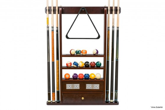 Wall Rack, mahogany, with Score Counter