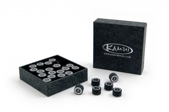 "Наклейка для кия ""Kamui black"" 13 mm (M) полу"