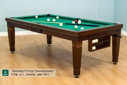 "Billiard Table ""Elsass"" 7  russian pyramid"