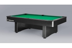 "Billiard Table "" DINO CLUB ""  Pool,  black /oak/white"