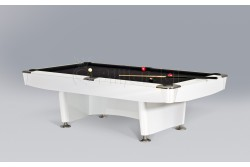 "Billiard Table "" DINO SPORT ""  Pool,  black /oak/white"