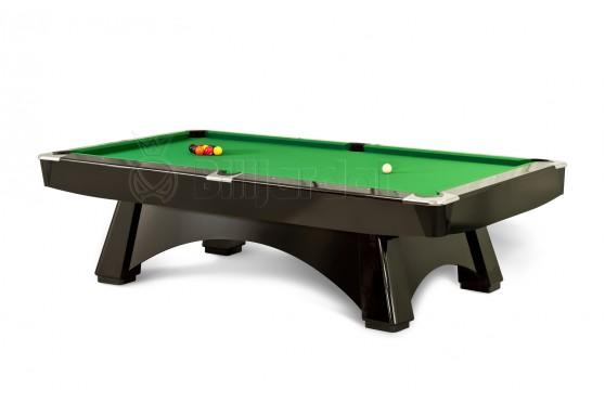 """Billardtisch """" DINO SPORT PRO """" Pool, schwarz/weiss/eiche , Tuchfarbe frei wählbar!"""