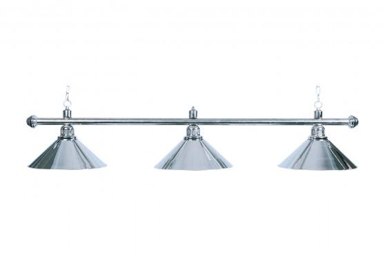 "Lampe ""Elegance"", 3-flammig, silber, Ø 35cm"