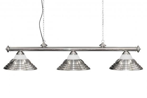 Лампа Adagio 3 плафона, серебристая