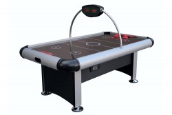 "Power Air Hockey ""ATLANTA"" 7 ft black/silver"