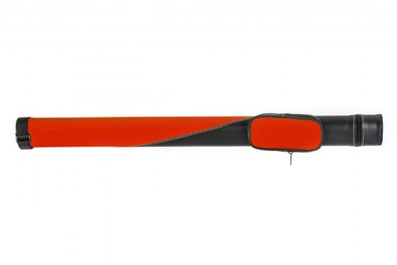 Billardqueueköcher TO11-5 rot-schwarz, 1/1, 85cm