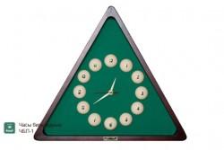 Billard-Uhr, Dreieck Pyramidkugeln