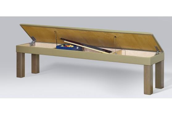 Sitzbank mit Polsterung  und Staufach