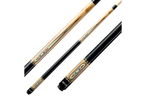 "Кий ""Classic Lotus CL-4"", коричневый, пул"