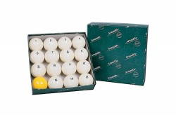 Aramith Ball Set Premier, 68mm, Pyramid