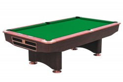 "Billiard Table ""Competition  9 ft "" mahogany Pool"
