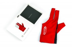 Billiard Glove, Kamui, red