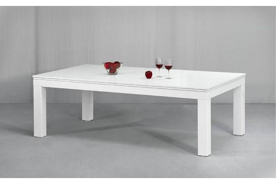 Billardtisch PRONTO VISION Pool Hochglanz oder matt-weiß