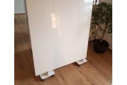 Abdeckplatte Pronto Vision, 2 teilig Hochglanz weiß oder matt-weiß