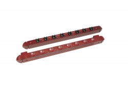 "Cue Holder ""Roman"", mahogany, for 8 Cues"