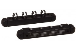 "Cue Holder ""Roman"" black, for 4 Cues"