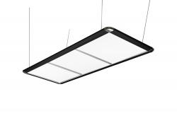 Светодиодный светильник LED FLAT черный