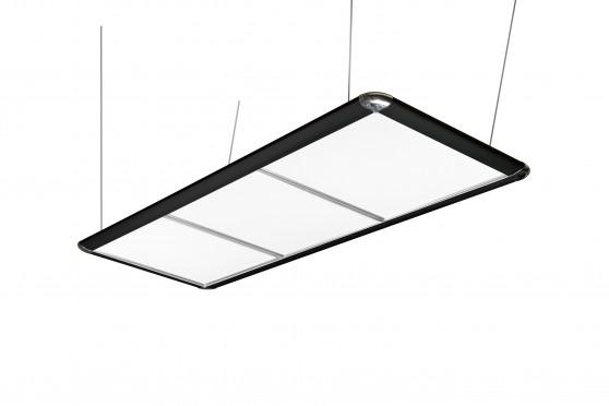 Светодиодный светильник LED FLAT серебристый