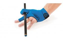 Billard Handschuh Predator Second Skin, 3-Finger, blau-schwarz