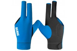Billiard Glove, BILMAG 3-Finger, blue-black