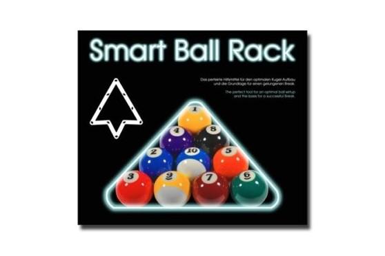 "Aufbauhilfe ""Smart Ball Rack"", PVC, Pool Aufbauschablone"