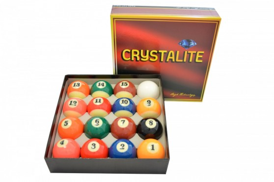 Billardkugeln Kugelsatz Crystalite Pro Match 57,2mm Pool