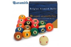 "Billardkugeln ""Super Aramith TV "" Pool 57,2 mm"