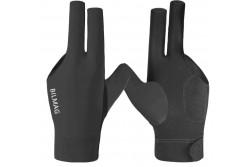 Billard Handschuh BILMAG, 3-Finger, schwarz