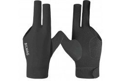 Billiard Glove, BILMAG 3-Finger, black