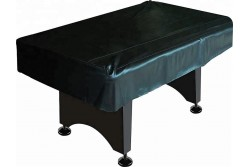 Table Cover 7,8, 9 Ft Artificial Leather, black