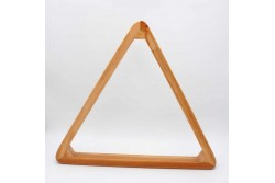 Triangle , solid wood 57,2 mm, Pool