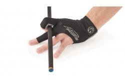 Handschuh Predator Second Skin, 3-Finger, schwarz-grau, für rechte Hand