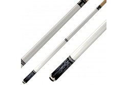 Billiard Cue MAZE , white ,  Pool Quick Release Joint