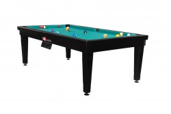 "Billiard -Dining Table ""Elsass"" 7 black, Pool"